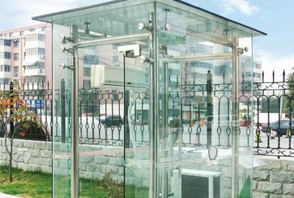 内蒙古玻璃岗亭