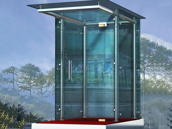 优质玻璃岗亭