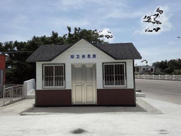 小区垃圾分类房